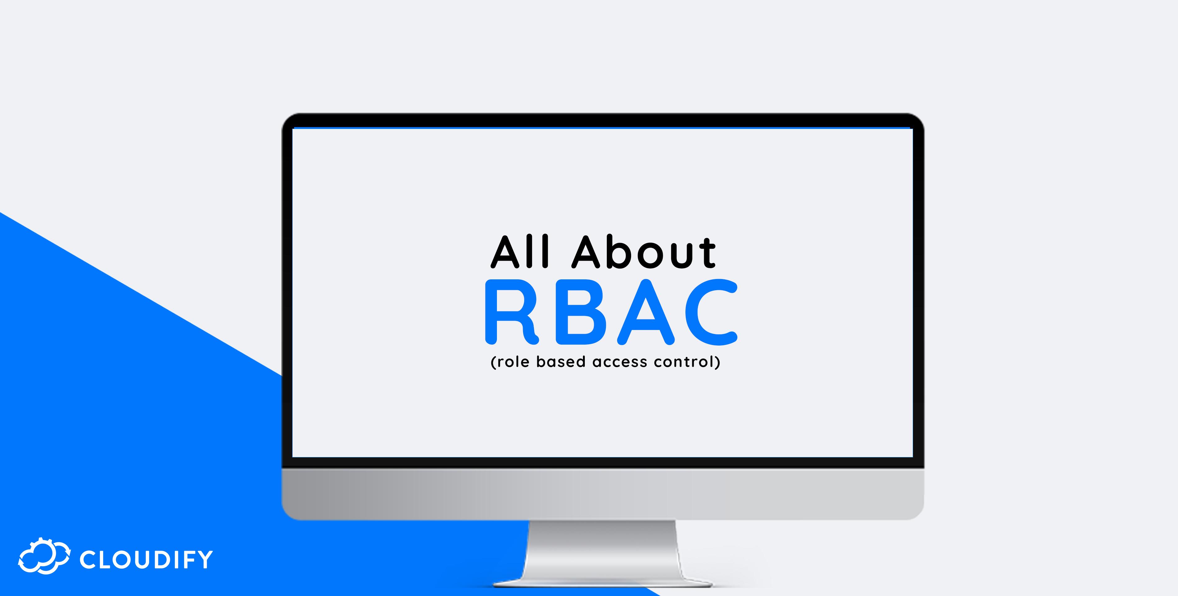 Cloudify RBAC REST API