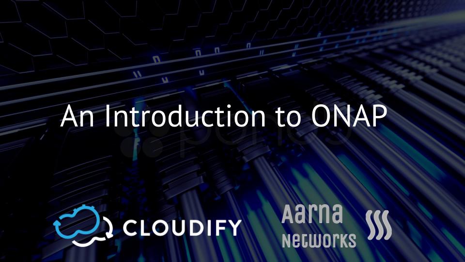 Cloudify Aarna ONAP Webinar
