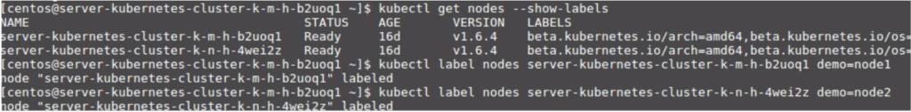 Cloudify Kubernetes Cluster interface