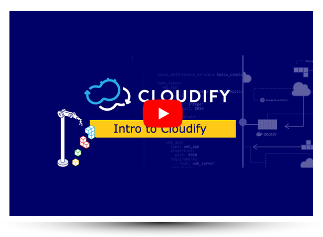 intro to cloudify