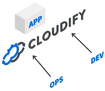 cloudify cloud devops icon