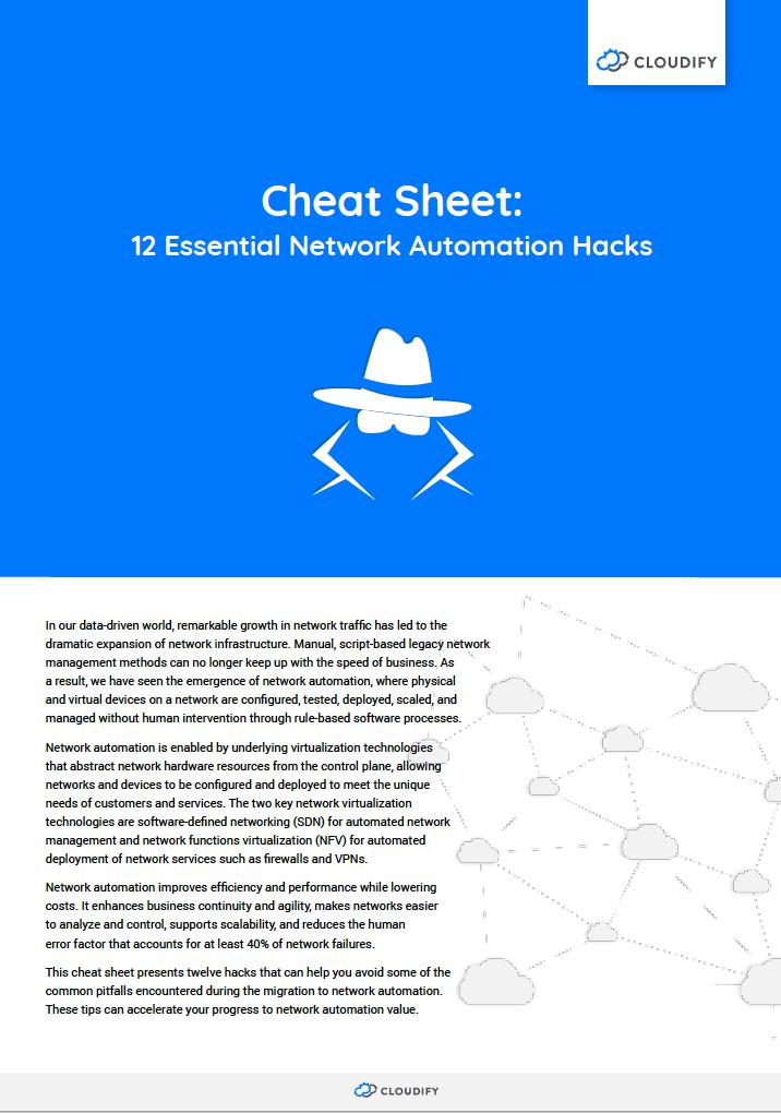 Cheat sheet automation hacks
