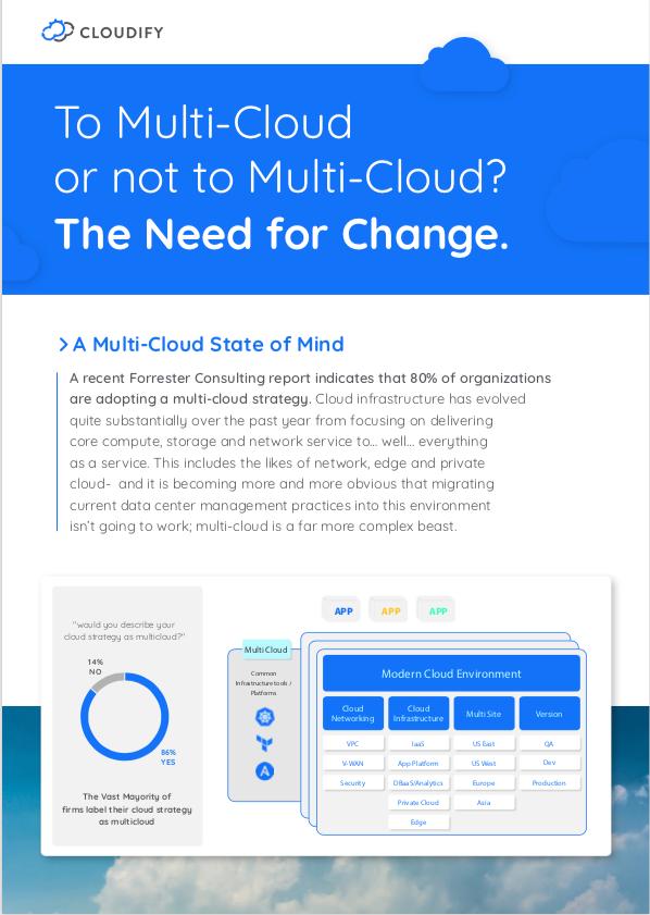 multi cloud whitepaper