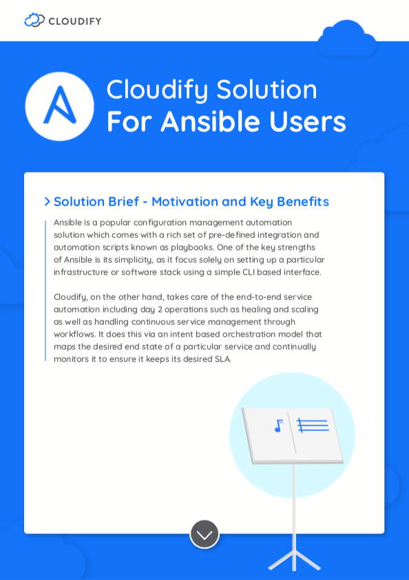 Ansible WP preview Cloudify