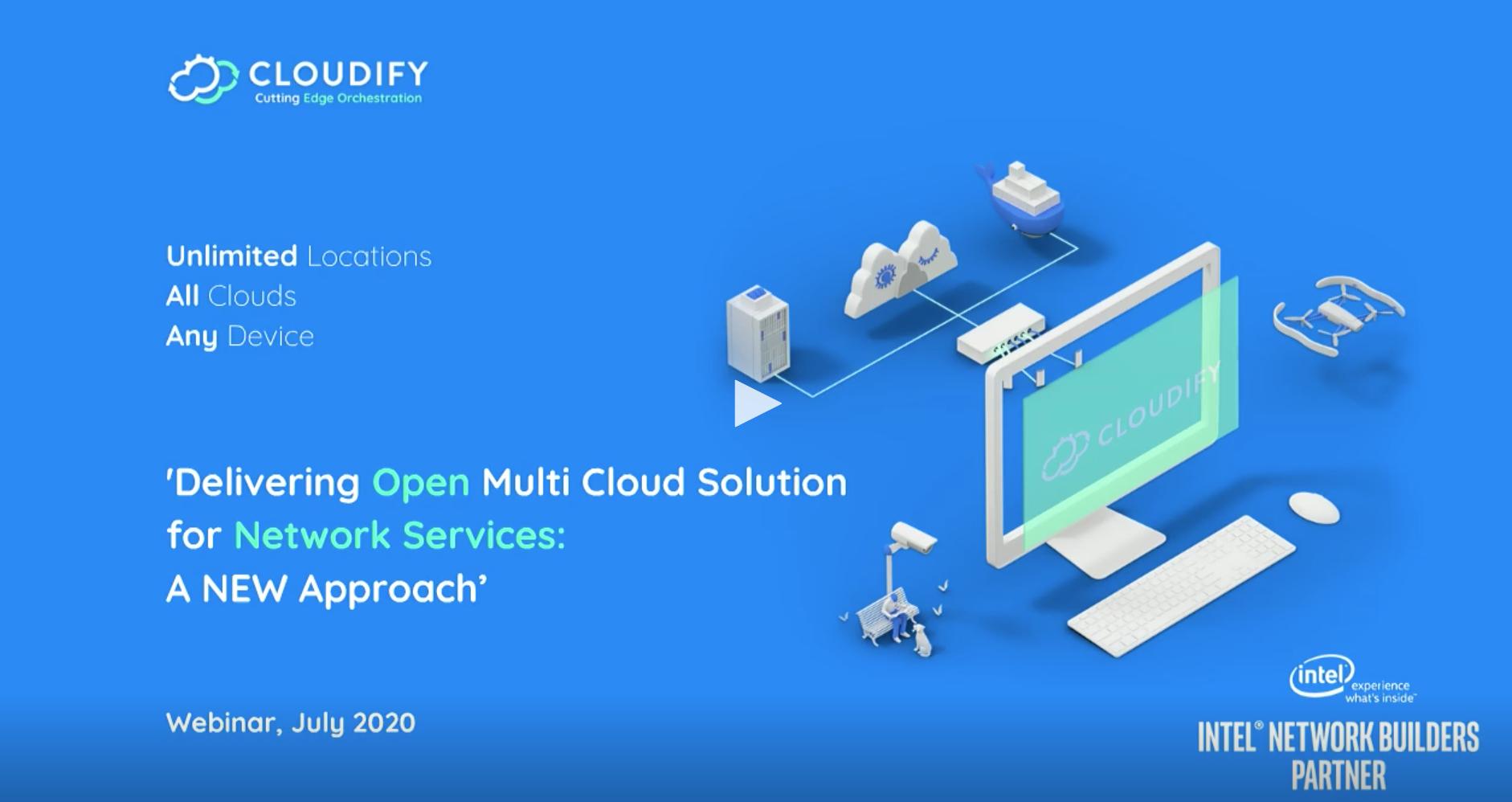 cloudify intel webinar