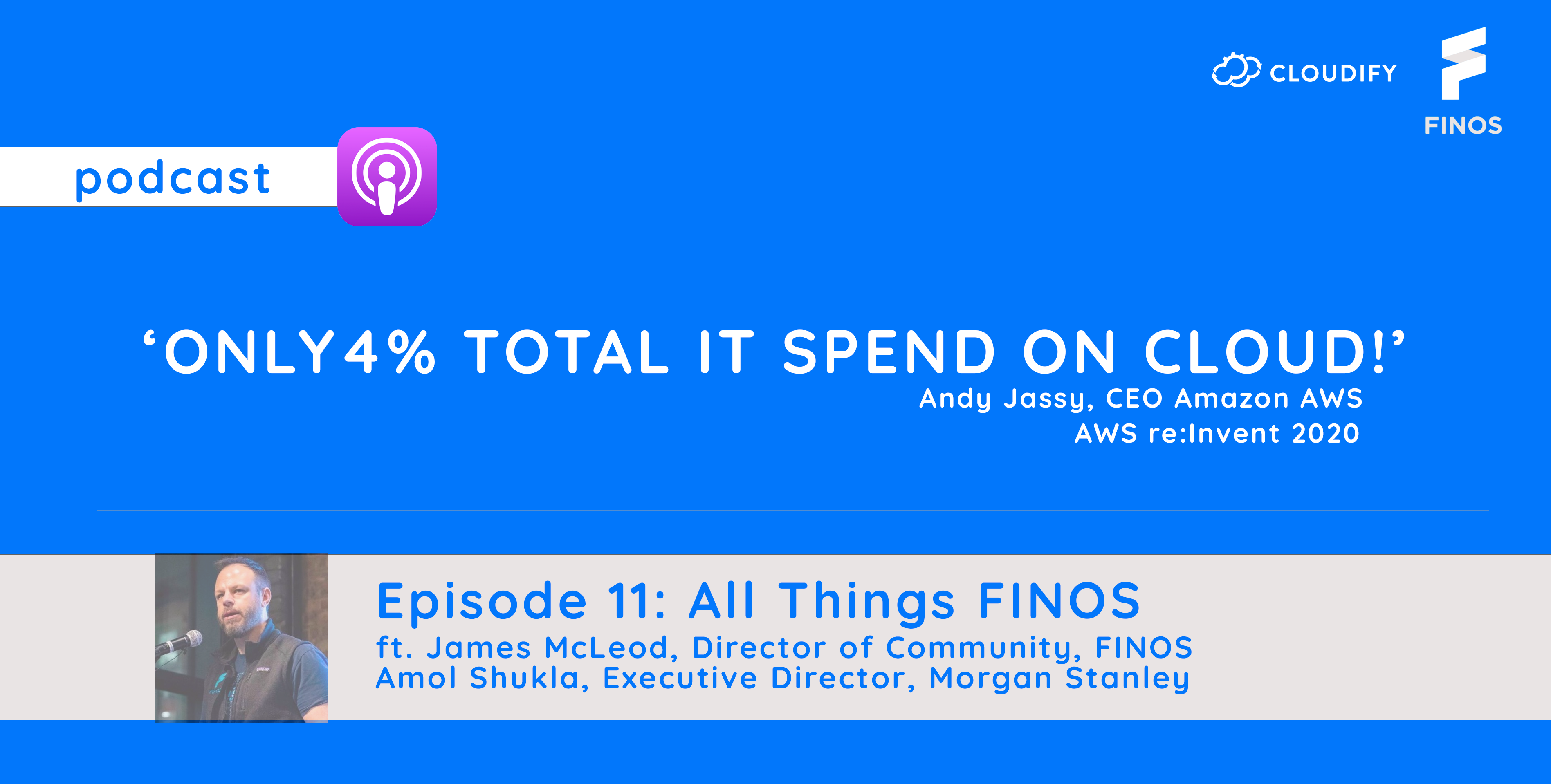 Cloudify podcast 11 FINOS