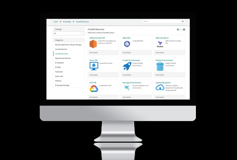 Cloudify ServiceNow